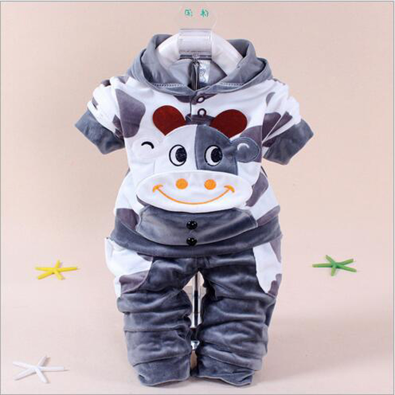 Baby carton velvet clothes for autumn spring new baby suit sets cotton long sleeve animal pattern set newborn cute clothes set baby carton velvet clothes for autumn spring new baby suit sets cotton long sleeve animal pattern set newborn cute clothes set