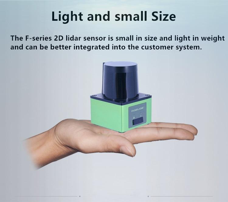 Tof 6m ip65 impermeável ao ar livre