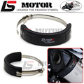 Motorcycle Accessories Universal Fit 100MM-140MM Oval racing hexagonal exhaust can protector cover black