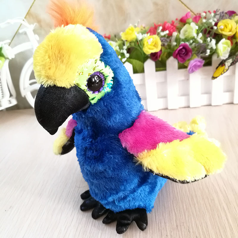 15cm Wynnie Parrot 6 Inch Ty Beanie Boos Plush Toy Stuffed Animal Soft Kids Toy Christmas Gift Hot Sale In Pain