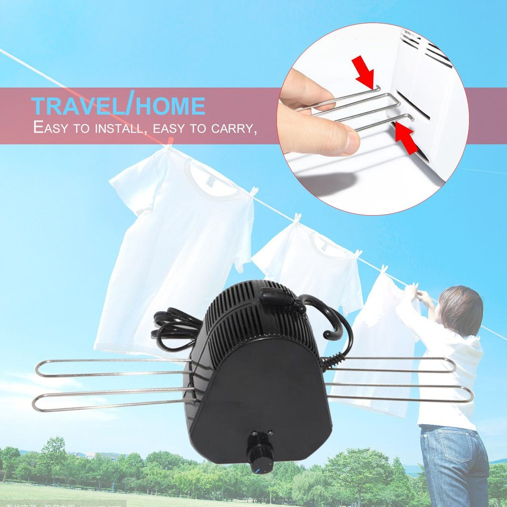 Portable Clothes Dryers Folding Electric Clothes Drying Rack Clothes Dryer Mini Clothing Shoes Heater Fast Drying Hanger TravelPortable Clothes Dryers Folding Electric Clothes Drying Rack Clothes Dryer Mini Clothing Shoes Heater Fast Drying Hanger Travel