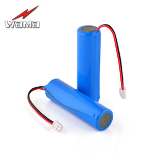 2x Wama 2600 мАч 18650 защищенная PCB 3,7 В литий-ионная литиевая аккумуляторная батарея 1S для фонарика DIY громкоговоритель FM радио