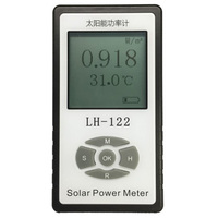 Solar Power Meter Blocking Rate Permeability Testing Shading Rate Meter Solar Films Insulated Glass