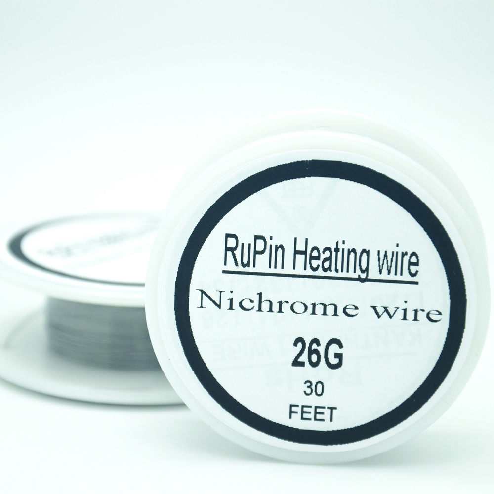 RuPin Heating Wrie Nichrome wire 26 Gauge 30 FT 0.4mm Resistance AWG ...