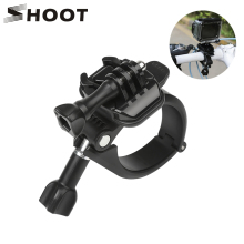 SHOOT 360 Rotary Clamp Handlebar Pole Tube Mount for GoPro Hero 7 6 5 4 Xiaomi Yi 4K Eken Sjcam Action Cam for Go Pro Accessory