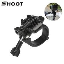 SHOOT 360 Rotary Clamp Handlebar Pole Tube Mount for GoPro Hero 9 8 7 5 Black Xiaomi Yi 4K Eken Sjcam M20 for Go Pro Accessory