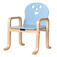 Детское кресло из цельного дерева, детское кресло для детского сада, детское кресло для дома, детское кресло-книжка