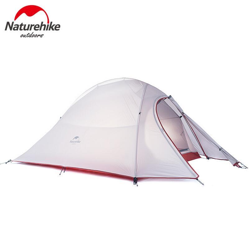 NatureHike Outdoor Camping Tent 2 3 Person Waterproof Double Layer 4 Season 1 Person Beach Fishing Hiking Tents Tourist tenda