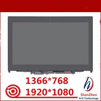 "Original For Lenovo ThinkPad Yoga 260 20GT 00NY900 12.5"" FHD LCD Touch Screen Assembly + Bezel AP1EY000710 01HY619"