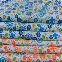 Free Shipping Floral Print Canvas Fabric Curtain Fabric Sofa Cloth Tablecloth Pillowcase Fabric