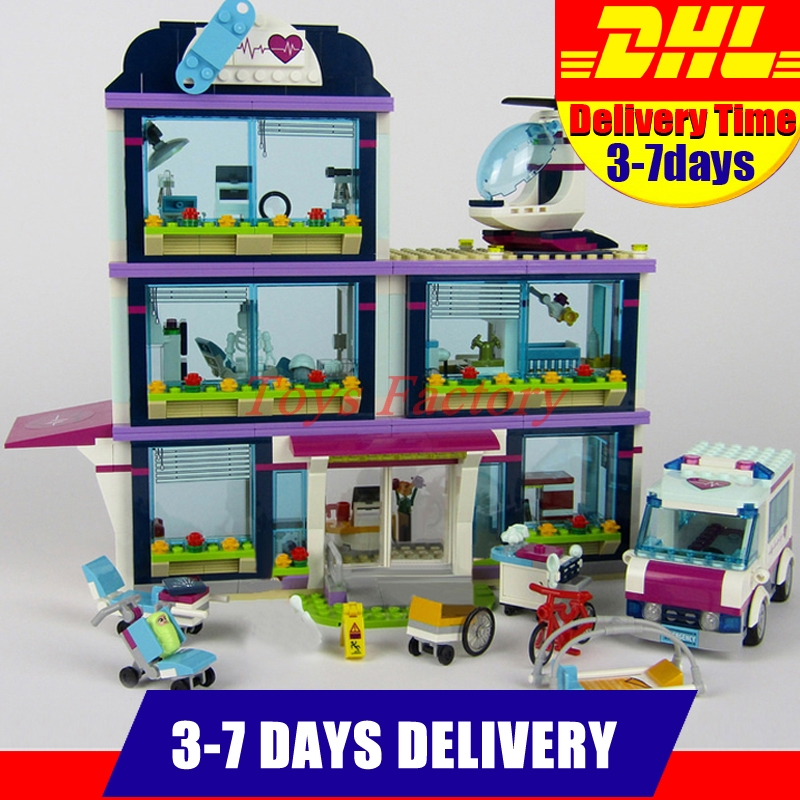 Lepin 01039 932pcs Heartlake City Park Love Hospital Girl Series Building Block Brick Toy Children Gifts Compatible 41318 lepin 01039 friends girl series building blocks toys heartlake hospital kids bricks toy girl gifts compatible with legoing 41318