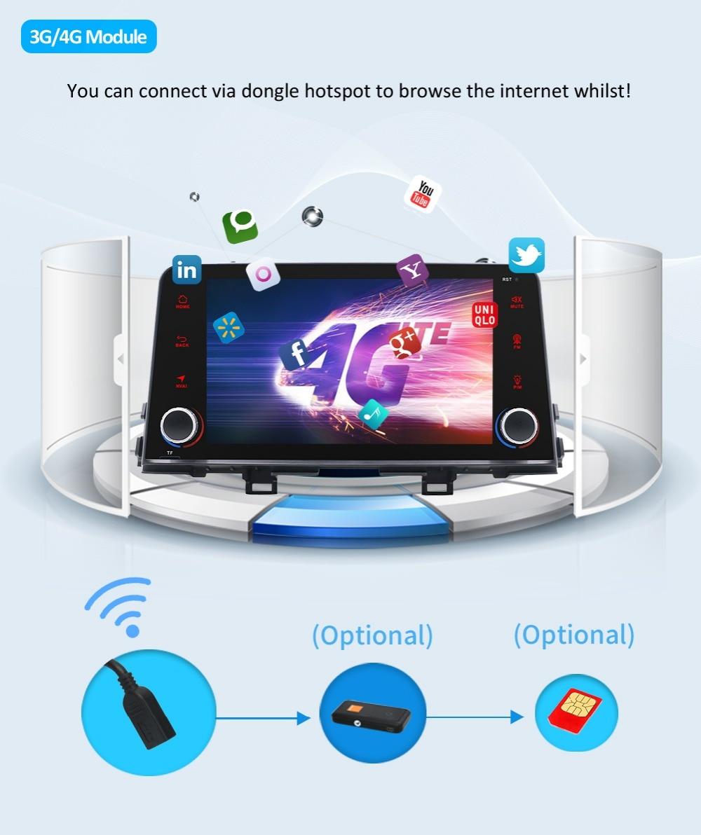 Stereo 9.0 Multimedia Mattina/Picanto 16