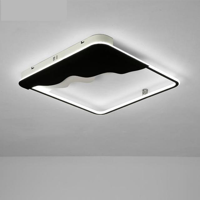 New Chinese-style led ceiling lamp post-modern minimalist rectangular living room square bedroom Ceiling Lights lighting