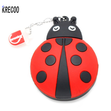 New Gifts Cute Cartoon Animal Ladybird Beetle Insect Usb Memory Stick Storage  PenDrive 4GB 64GB USB 2.0  Flash Drives