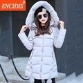 4 cores Nova Chegada mulheres casaco de Inverno 2016 Do Sexo Feminino Inverno roupas de pele Com Capuz parka Lady Longo Casacos e Jaqueta Slim M88