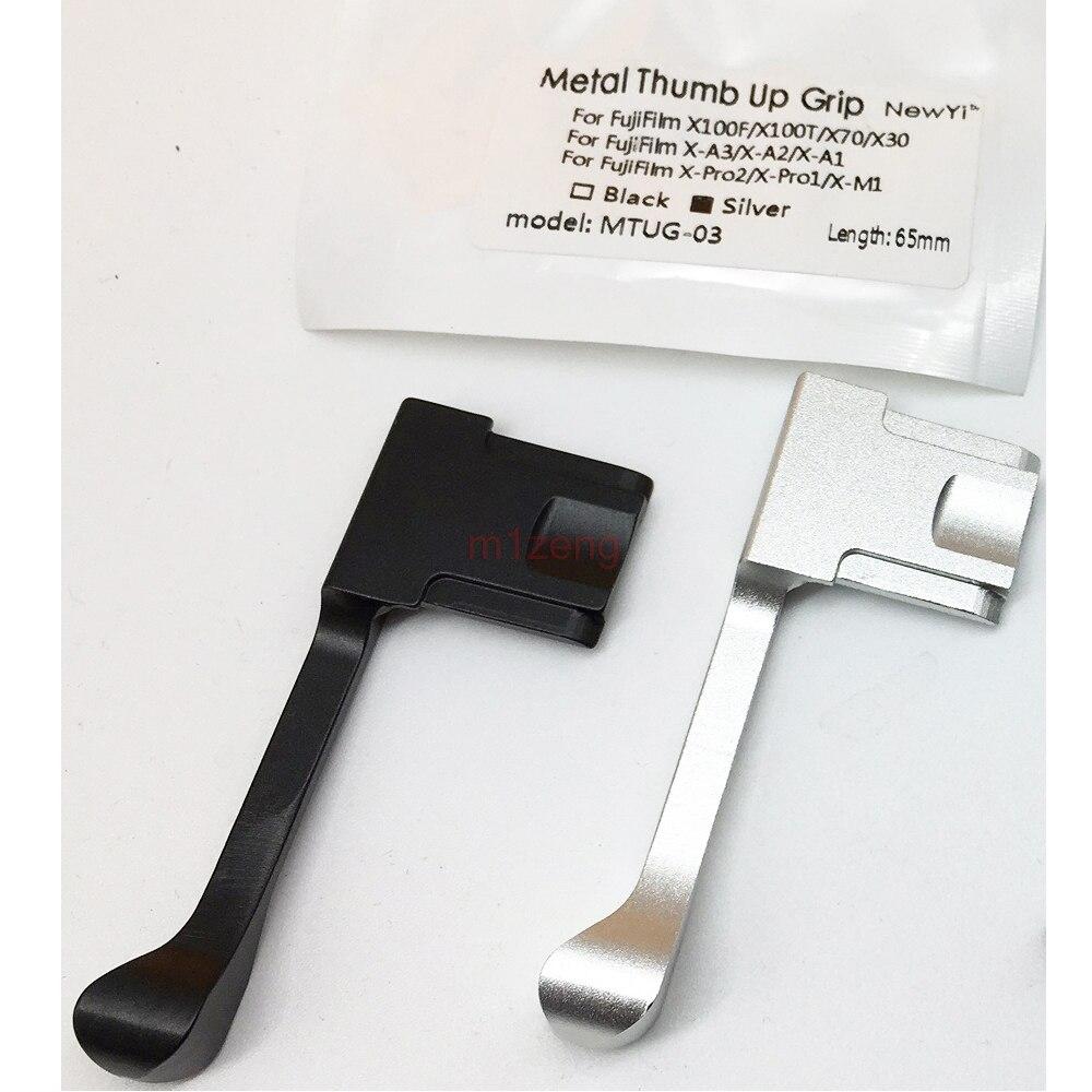 Métal Pouce chaud chaussure poignée Griffe support pour Fujifilm Fuji X100F X100T X70 X30 X-A3 X-A2 X-A1 X-PRO2 x-PRO1 X-M1 Caméra