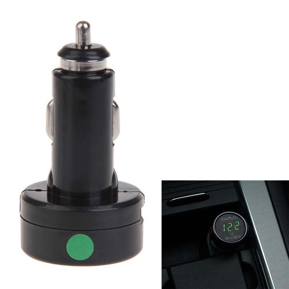Alloet 12V 24V մեքենայի լիցքավորիչը թվային - Բջջային հեռախոսի պարագաներ և պահեստամասեր - Լուսանկար 3