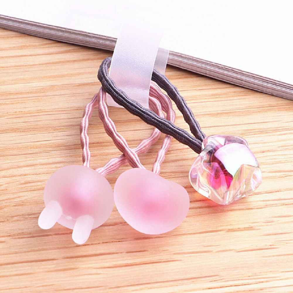 3 PC Coréia Pinhas Lantejoulas Brilhante Matagal Elastic Faixa de Cabelo Para Meninas Acessórios Para o Cabelo Laços de Cabelo Elástico Do Cabelo arcos