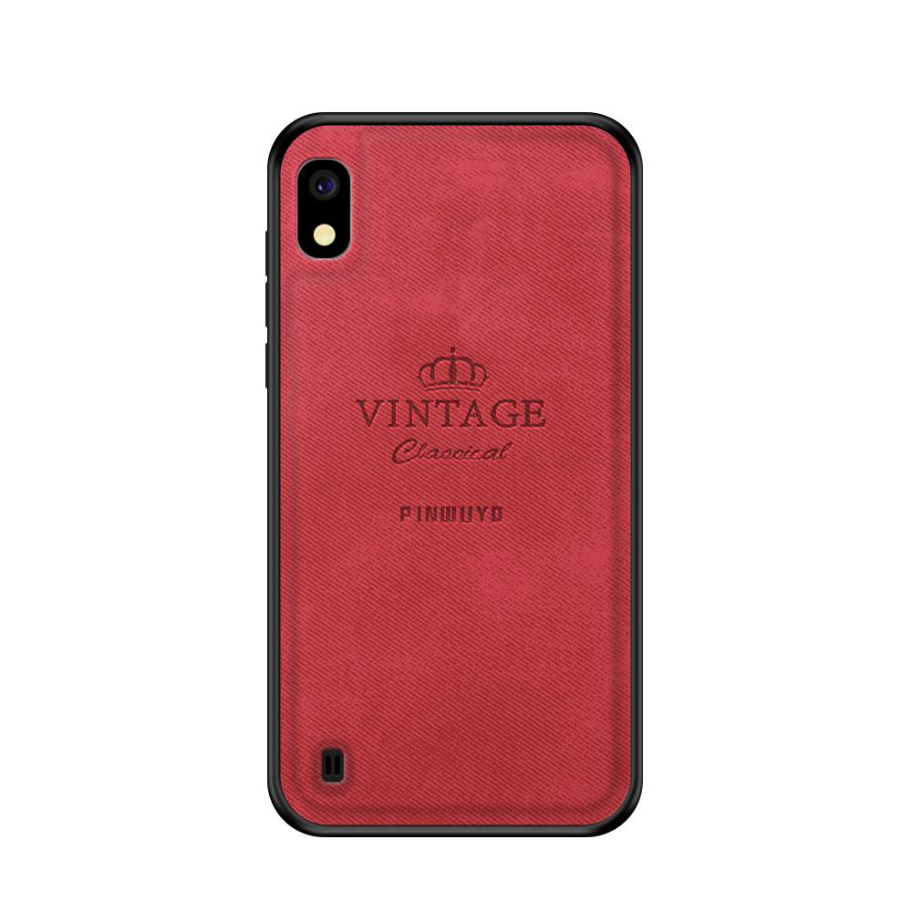 Case For Samsung Galaxy A10 Cover Vintage Case Pu Leather PC Hard For Samsung Galaxy A10 Cover Fitted Cases For Samsung A10