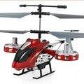 3.5CH RC Helicóptero Com luz de Controle Remoto de Rádio do Metal do natal Presente das Crianças Brinquedo Engraçado Legal Drone VS 107G FSWB