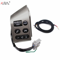 PUFEITE Steering wheel control button for nissan tiida LIVINA old Sylphy volume phone button switch car accessories