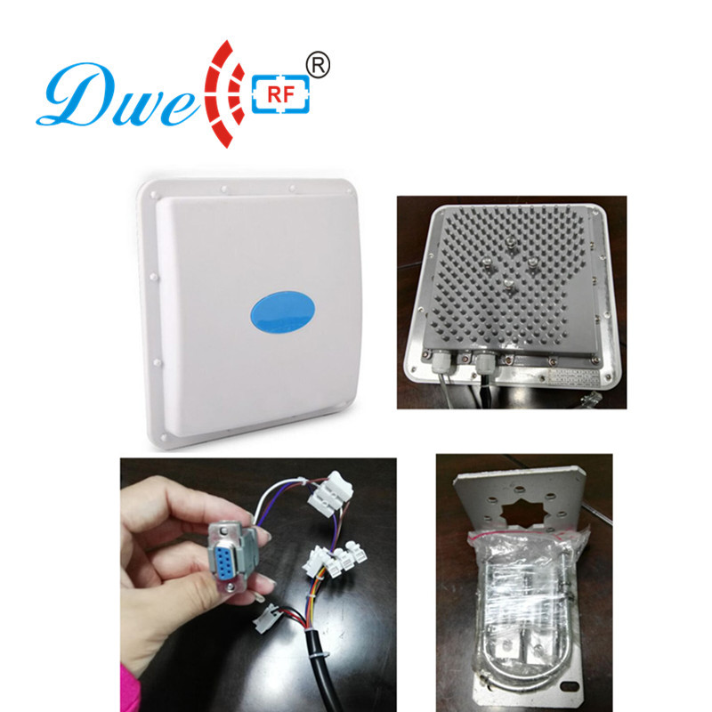 DWE CC RF carte de contrôle d'accès lecteur 2.4 ghz lecteur rfid rs232 rs485 wiegand haute puissance longue distance rfid lecteur 100 m