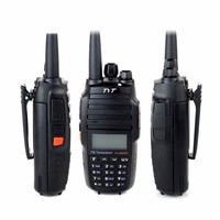 TYT TH UV8000D Ultra high 3600mAh 10W Handheld Transceiver Walkie Talkie Dual Band Display Standby US Plu +High Gain Antenna