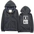 2016 Nova Marca de moda tendência bordado hoodies MMA Luta Muhammad Ali Todas As Estrelas Raglan hoodies Inverno Manga Longa camisola