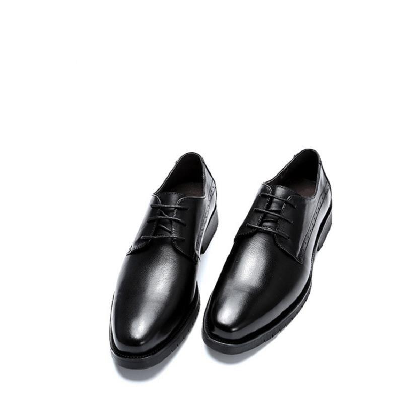 Sapatos Casamento Formais Arrivals Derby Do Mycolen 2018 De Couro Quadrado Pé Preto Dedo Homens Pretos New Negócios Para wO1cRqX