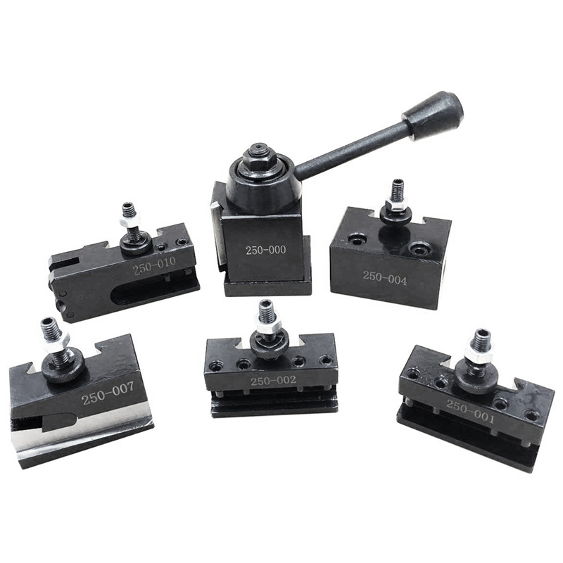 1 Set Steel Tool Post Set Universal Parting Blade Tool Holder For Mini Lathe
