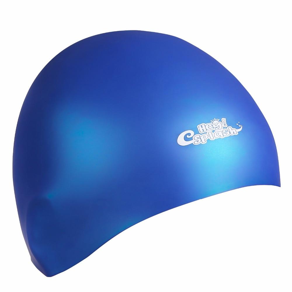3d Cuffia Da Nuoto In Silicone-impermeabile Breve/lungo Dei Capelli Protezione Di Nuotata Per Gli Uomini Adulti E Donne Disponibile In Vari Disegni E Specifiche Per La Vostra Selezione