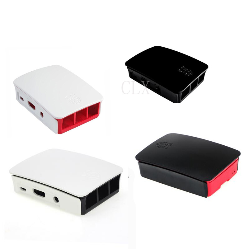 Raspberry Pi 3 Case Official ABS Enclosure  Raspberry Pi 2 Box Shell 4 Colors For Raspberry Pi 2/3B/3B+