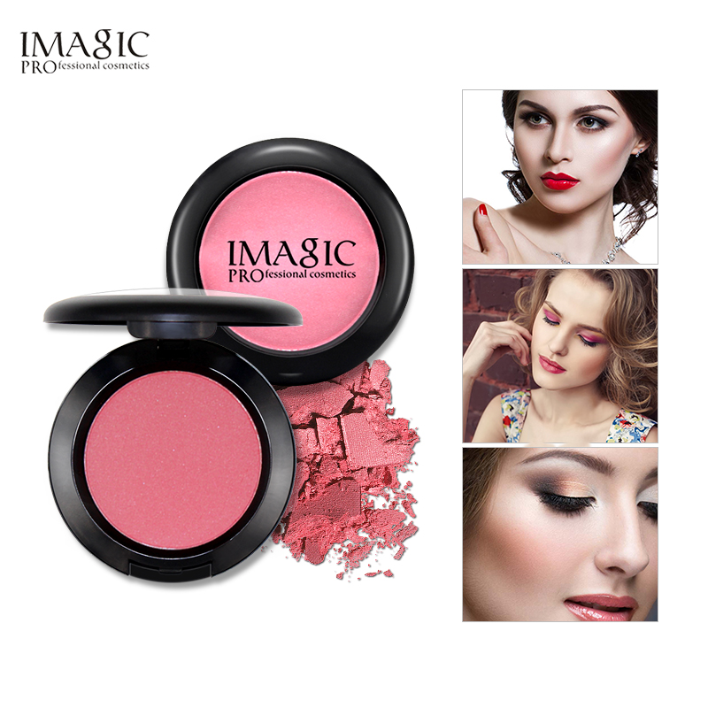 IMAGIC Professionelles Rouge für Gesicht Beauty Blush Maquiagem Rouge Palette Make-up Highlight Kosmetik Gesicht Schatten 8 Farben