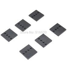 10pcs lot 3x3cm Stand Base Plate Part 4 Dots Building block bricks Accessories STAR WARS MOVIE