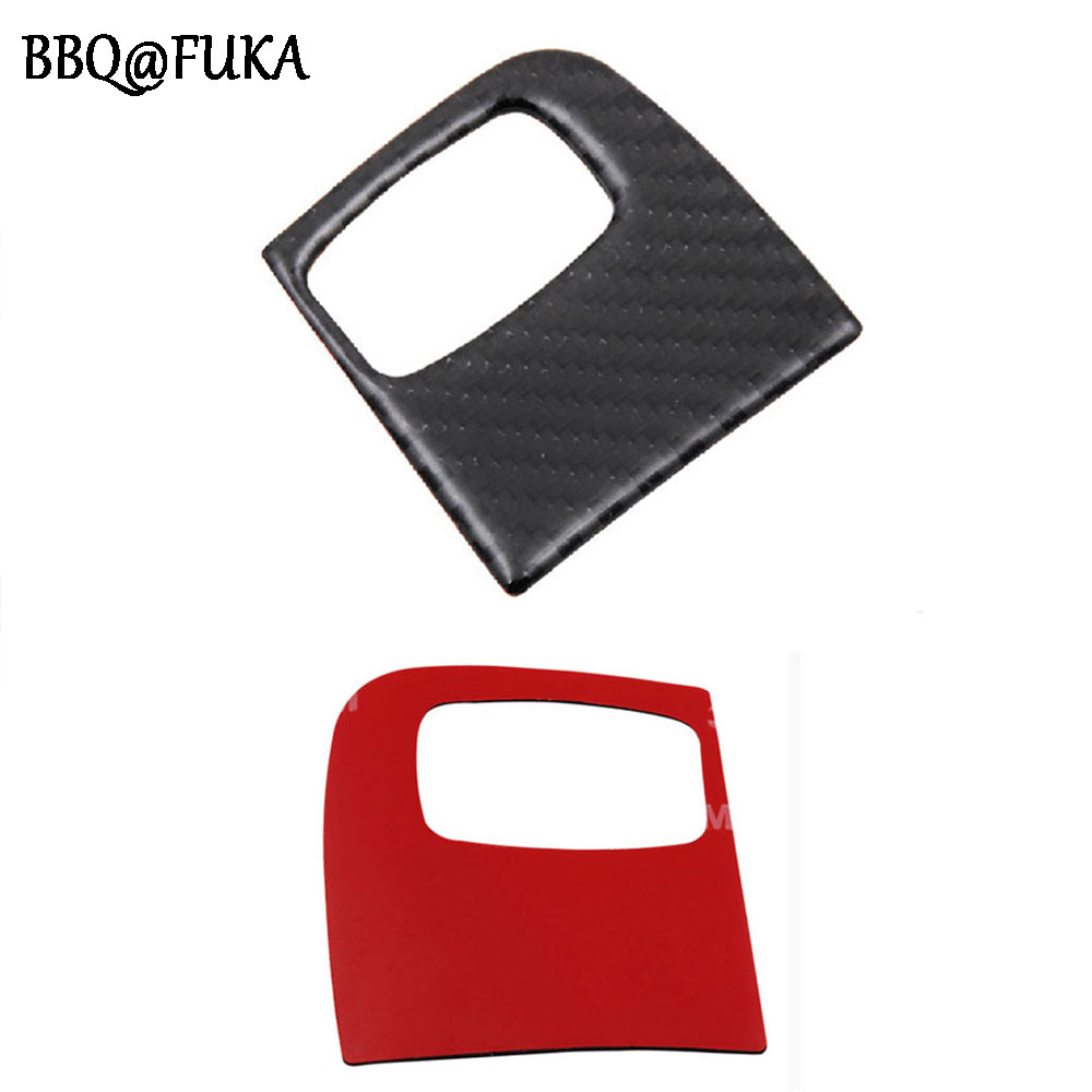 Bbqfuka 1pc Carbon Fiber Car Interior Key Panel Kit Frame Trim Kato N Scale Printed Circuit Board Pcb Lighting For Up Water Cover Decoration Fit Audi A4 A5 B8 B9 2009 2015 Styling