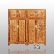 Японская Классическая палисандр шкаф для дома кровать комната твердая мебель Redwood Garderobe антикварная одежда пресс китайский стиль ящики