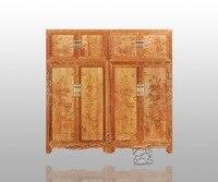 Japonais Classique Palissandre Armoire Maison Lit Chambre Solide Redwood Meubles Garderobe Antique Clothespress Chinois Style Tiroirs