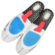 1 Pair Unisex Orthotic Arch Support Sport Shoe Pad Sport Running Gel Insoles Ins