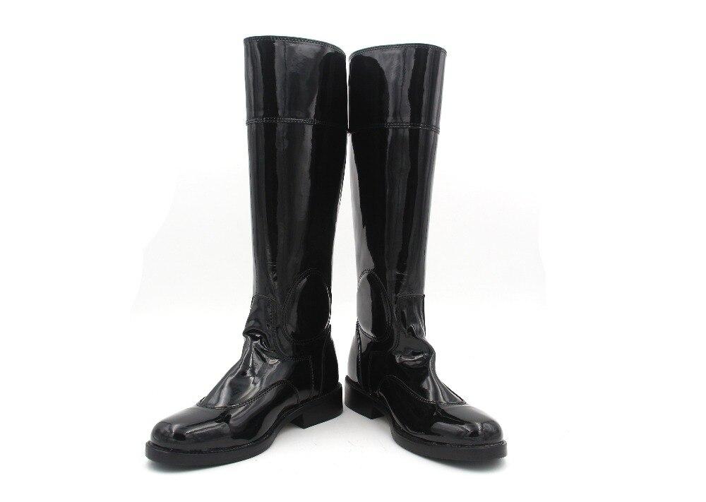 Aoud Saddley/сапоги для верховой езды из лакированной кожи под платье, сапоги для верховой езды, обувь унисекс на заказ