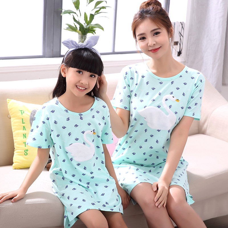 06009bca08 Love Pajamas Dress Family Set Cotton Mother Daughter Pajamas Mom and  Daughter Dresses Clothes Family Pajamas Clothing XS14-in Matching Family  Outfits from ...