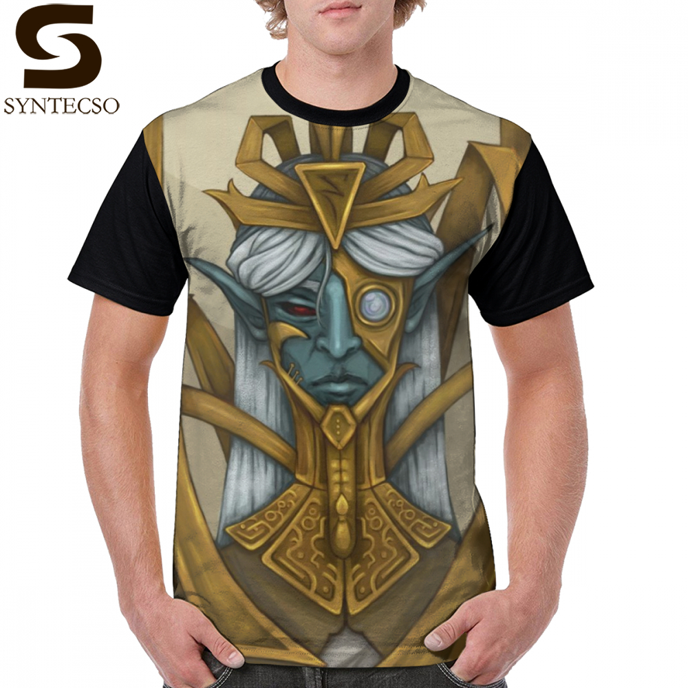 Morrowind T Shirt Sotha Sil T-Shirt XXX Cute Graphic Tee Shirt Man Fashion Short Sleeves Printed 100 Percent Polyester Tshirt