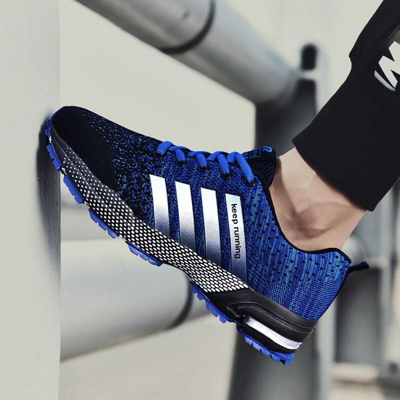 2019 hot sale Men Shoes men casual shoes Summer unisex Light weige Breathable mesh Fashion male Shoes sneakers Plus size 35-46 zapatillas de moda 2019 hombre