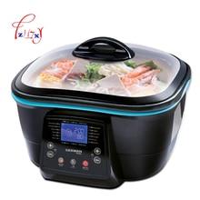 Многофункциональный 5L электрический чайник для здоровья, электрическая плита, горячий горшок/гриль/пар/Сковорода/для жарки во фритюре/Выпекание/торт, приготовление пищи, DFC-818