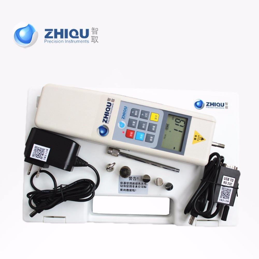 Dinamométer digitális erőmérő HP-100 nyomóerős erőmérő - Mérőműszerek - Fénykép 3