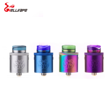 Original Hellvape Drop Dead RDA 24mm diameter 14 airflow holes rda atomizer for aegis mod vs dead rabbit rda