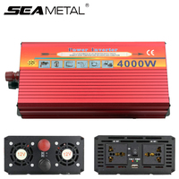 Car Inverter Power 3000W 4000W Electronics DC 12V To AC 220V 110V Automobiles Charger USB Voltage Converter Travel Accessories