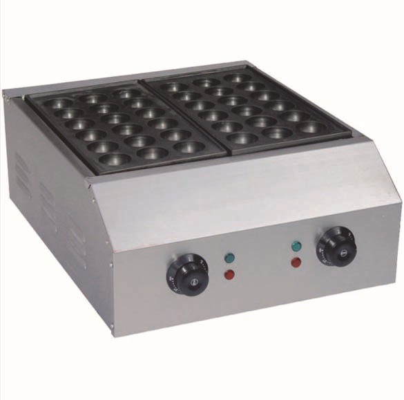 bigger size 4.5cm holes two plate electric commerical automatic takoyaki machine,takoyaki grill