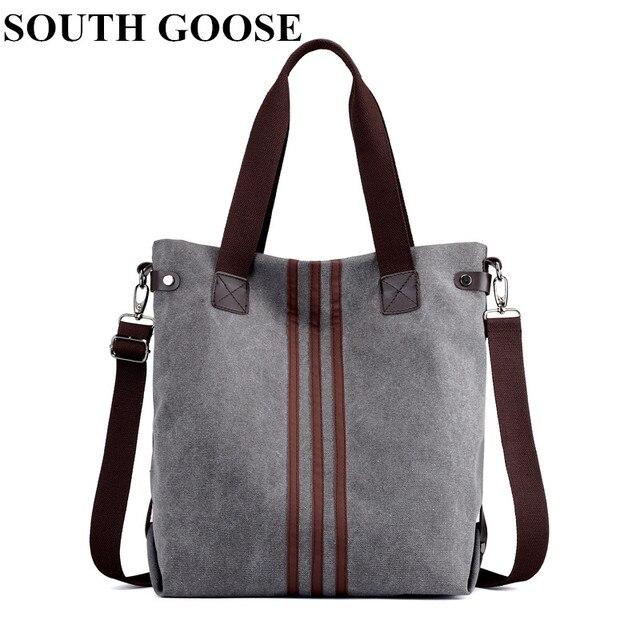 59174affe Sur ganso moda bolsa de lona de gran capacidad bolso de la lona de las  mujeres