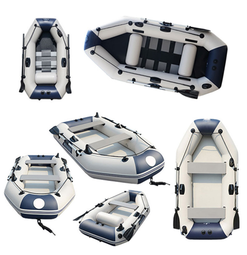 Bateau en pvc bateau en caoutchouc Gonflable bateau feuilleté bateau de pêche bateau avec qualité supérieure