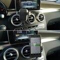 Автомобильный держатель для телефона Mercedes-Benz C GLC Class W205 X253, крепление на вентиляционное отверстие, зажим с вращением на 360 градусов, кронштей...